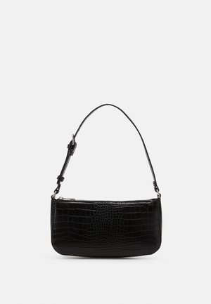 BAG ELLA CROCO - Handbag - black