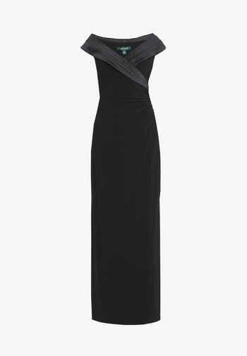 MID WEIGHT LONG GOWN COMBO - Occasion wear - black