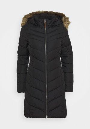 VELVA - Winter coat - black