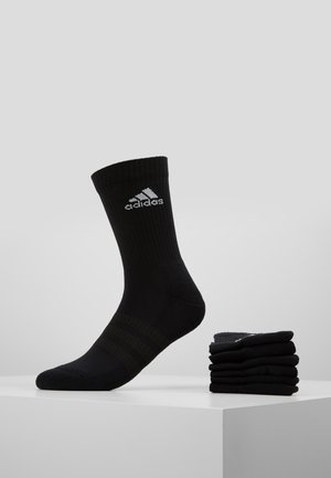 CUSH 6 PACK - Sports socks - black
