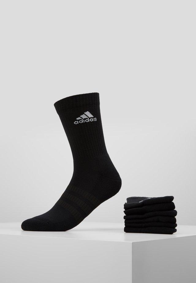 CUSH 6 PACK - Calcetines de deporte - black