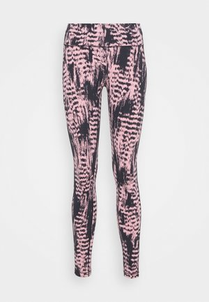 ICONIC PRINTED  - Collant - survive pink
