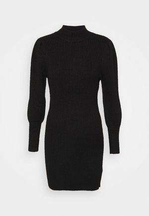 ONLKATIA DRESS - Strikket kjole - black