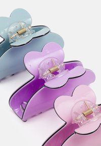 Pieces - PCLIMA HAIRSHARK KEY 3 PACK - Hair styling accessory - pastel lilac/mult/solid - 2