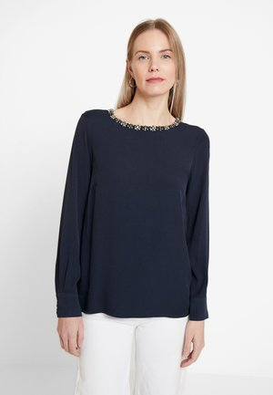 BLOUSE SLEEVE - Bluser - midnight blue