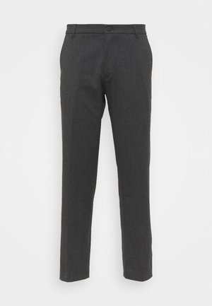 PAUL BRUSHED PANTS - Trousers - grey