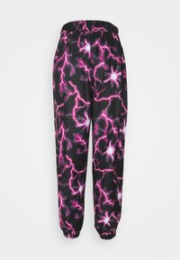Missguided - LIGHTENING JOGGER - Joggebukse - black - 1