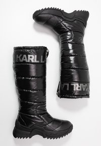 KARL LAGERFELD - QUEST BOOT - Vinterstøvler - black - 3
