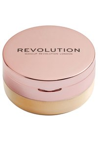 Make up Revolution - CONCEAL & FIX SETTING POWDER - Setting spray & powder - deep yellow - 1