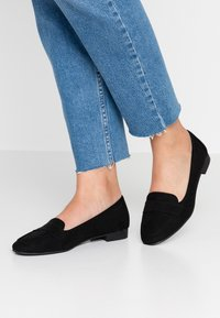 New Look Wide Fit - WIDE FIT LORNA - Slip-ons - black - 0