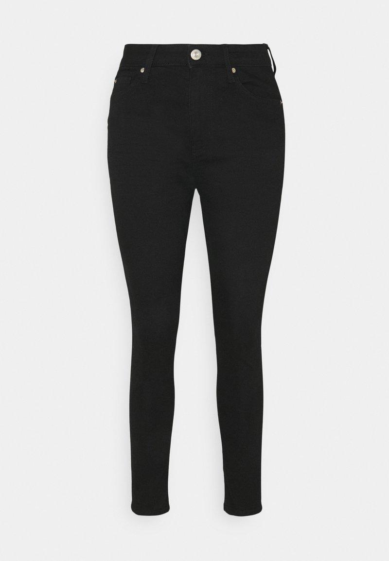 Marks & Spencer London - IVY SKINNY - Jeans Skinny Fit - black denim