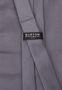 Burton Menswear London - SET - Tie - grey - 5