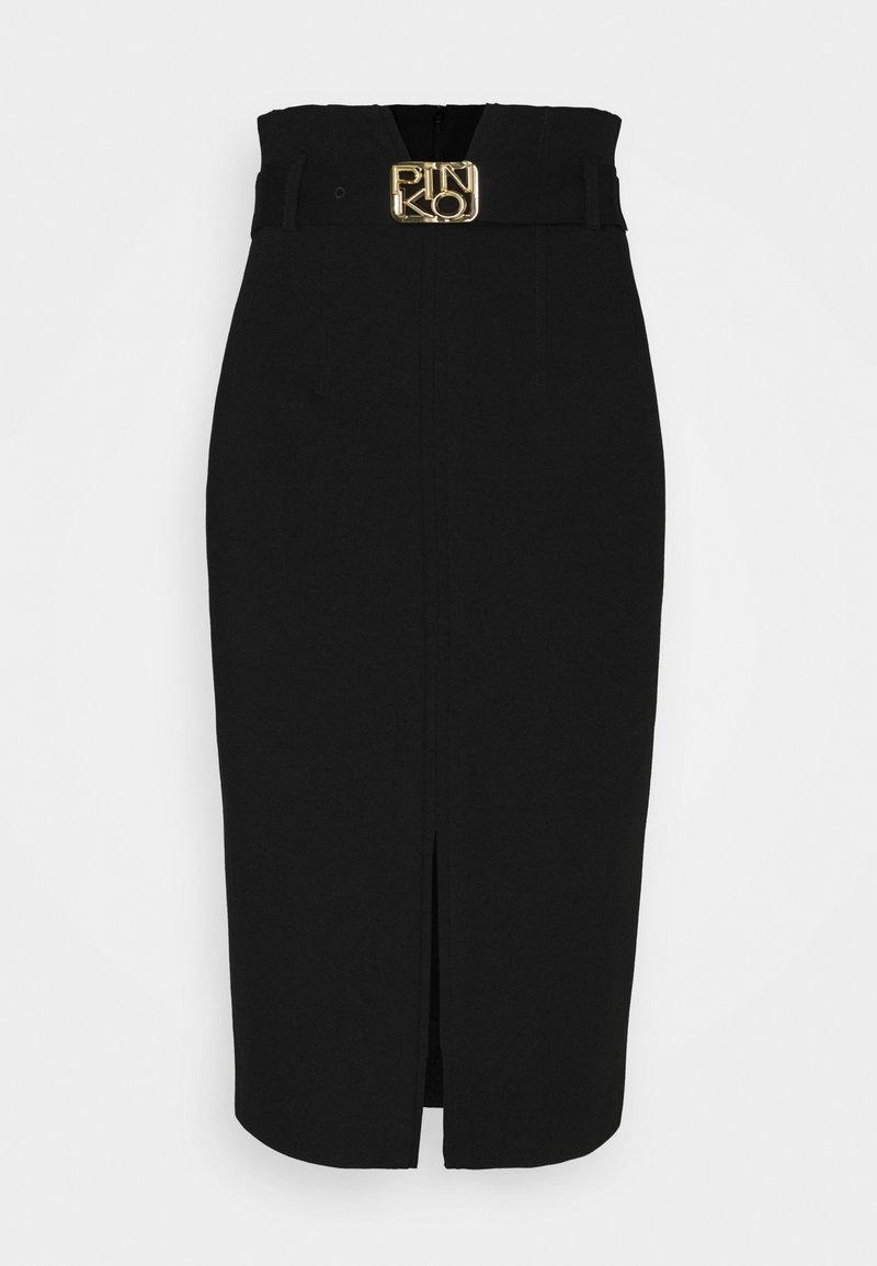 Pinko - RUGGERO SKIRT - Pencil skirt - black