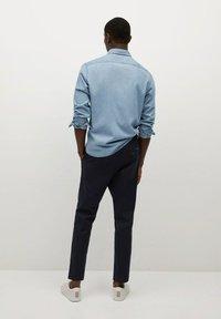 Mango - MATEO - Trousers - dunkles marineblau - 2