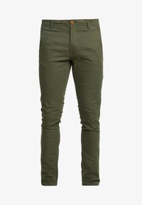 Blend - BHNATAN PANTS - Chino - olive night green - 4