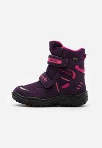 Superfit - HUSKY - Zimní obuv - lila/rosa - 0