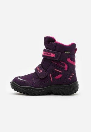 HUSKY - Zimní obuv - lila/rosa