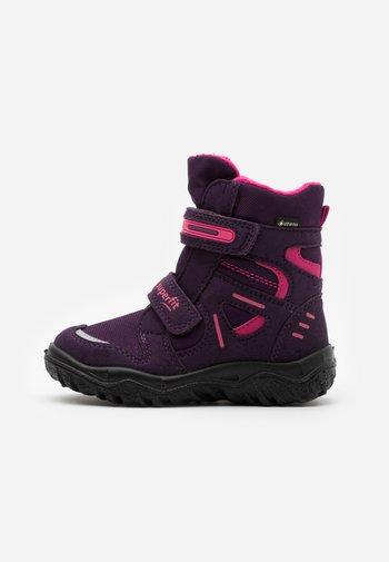HUSKY - Winter boots - lila/rosa