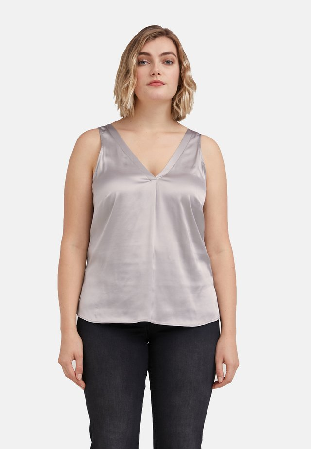 STRETCH- - Blouse - grigio