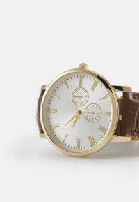 Burton Menswear London - CLASSIC WATCH - Reloj - gold-coloured/brown - 5
