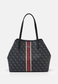 Guess - VIKKY TOTE - Handbag - coal - 0