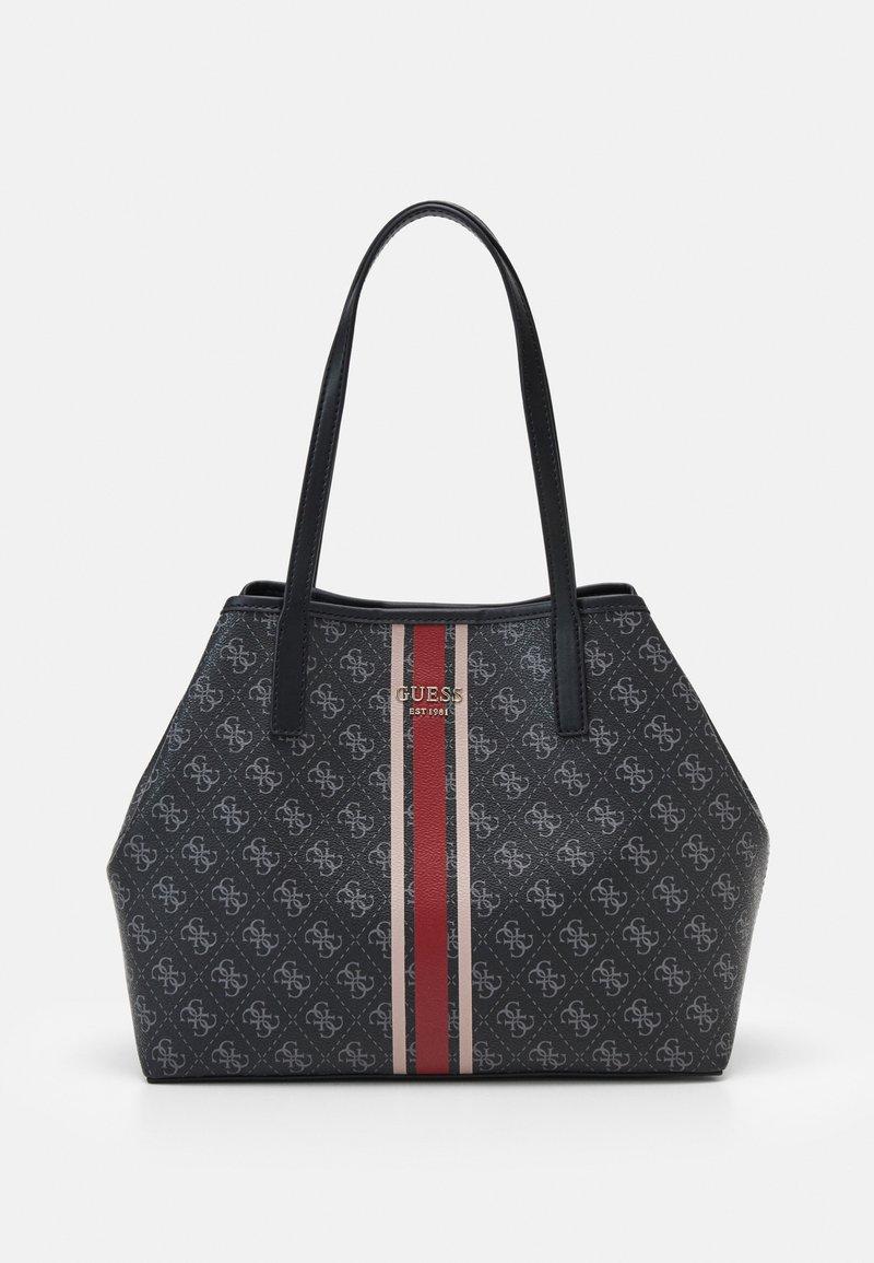 Guess - VIKKY TOTE - Handbag - coal
