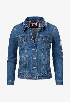 PAMUYAA - Denim jacket - blau denim