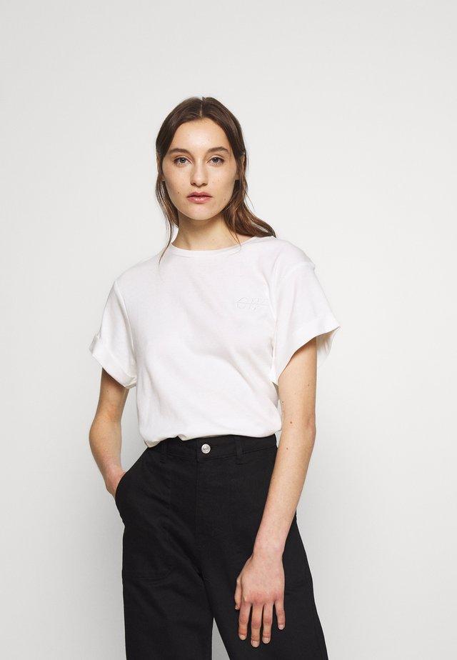 STORM - T-shirt basic - snowwhite