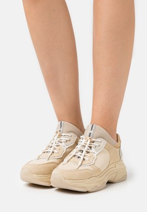 BAISLEY - Trainers - camel/gold