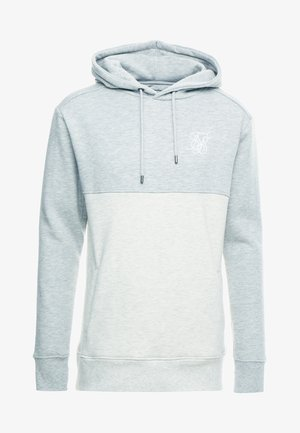 DROP SHOULDER CUT SEW HOODIE - Hoodie - grey marl off-white