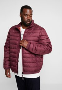 LERROS - LIGHT WEIGHT BLOUSON  - Light jacket - dark berry - 3