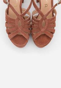 Unisa - VABEL  - High heeled sandals - tiffany - 5