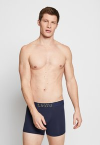 Levi's® - MINI ICON BRIEF 2 PACK - Panty - yellow - 1