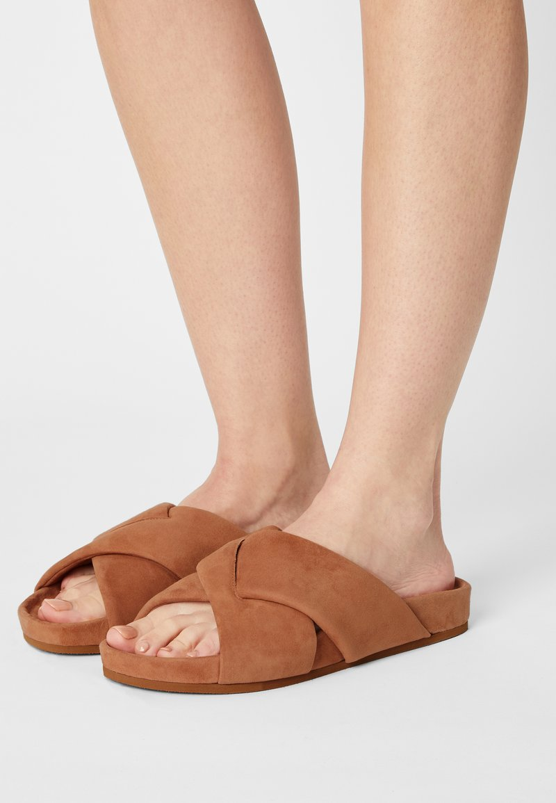 Who What Wear - ALLIE - Mules - camel
