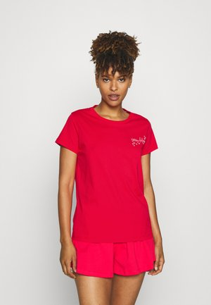 SIGNATURE - Pyjamas - cornell red