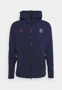 Nike Performance - PARIS ST GERMAIN HOODIE - Club wear - midnight navy/university red - 4