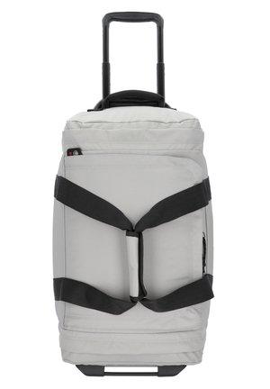 LEATHERFACE 2-ROLLEN REISETASCHE 55 CM - Wheeled suitcase - concrete grey
