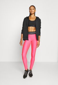 Under Armour - LEGGING BRANDED - Leggings - cerise - 1