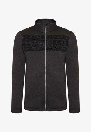 Fleece jacket - ebony grey