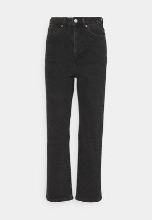 ZAMI WASHED  - Jeans Straight Leg - black dark
