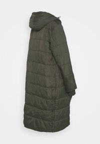 Modern Eternity - PENELOPE PUFFER MATERNITY - Winter coat - khaki - 1