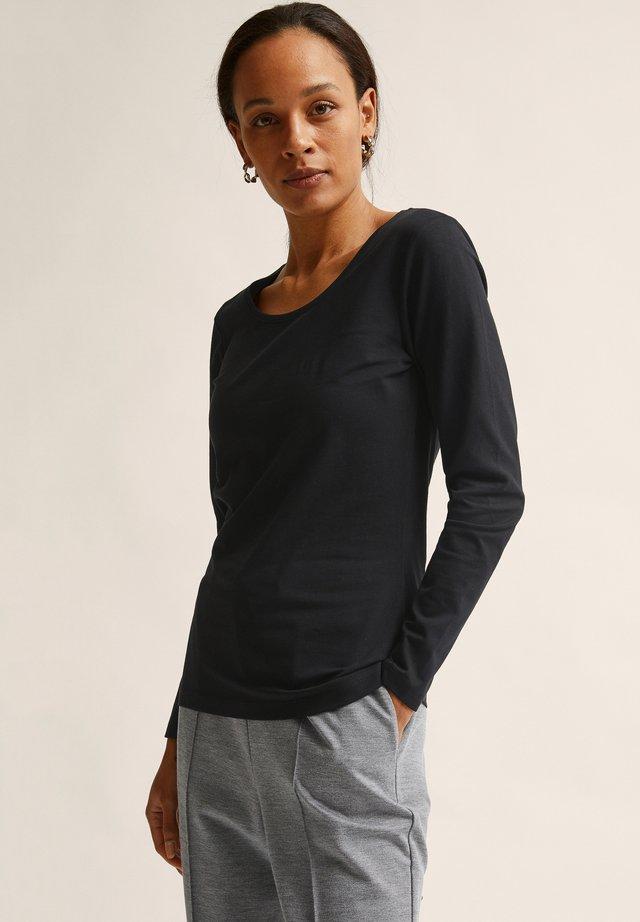 ELISA  - Pitkähihainen paita - black