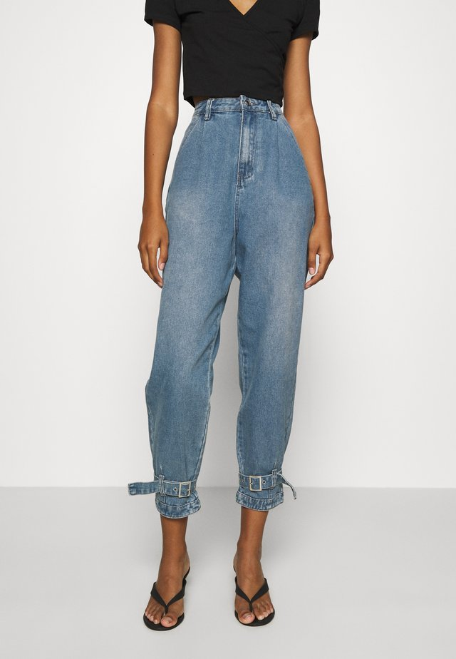 BUCKLE  - Jeans baggy - blue