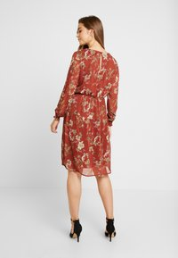 ONLY - ONLCLEO KNEE SMOCK DRESS - Day dress - picante - 2