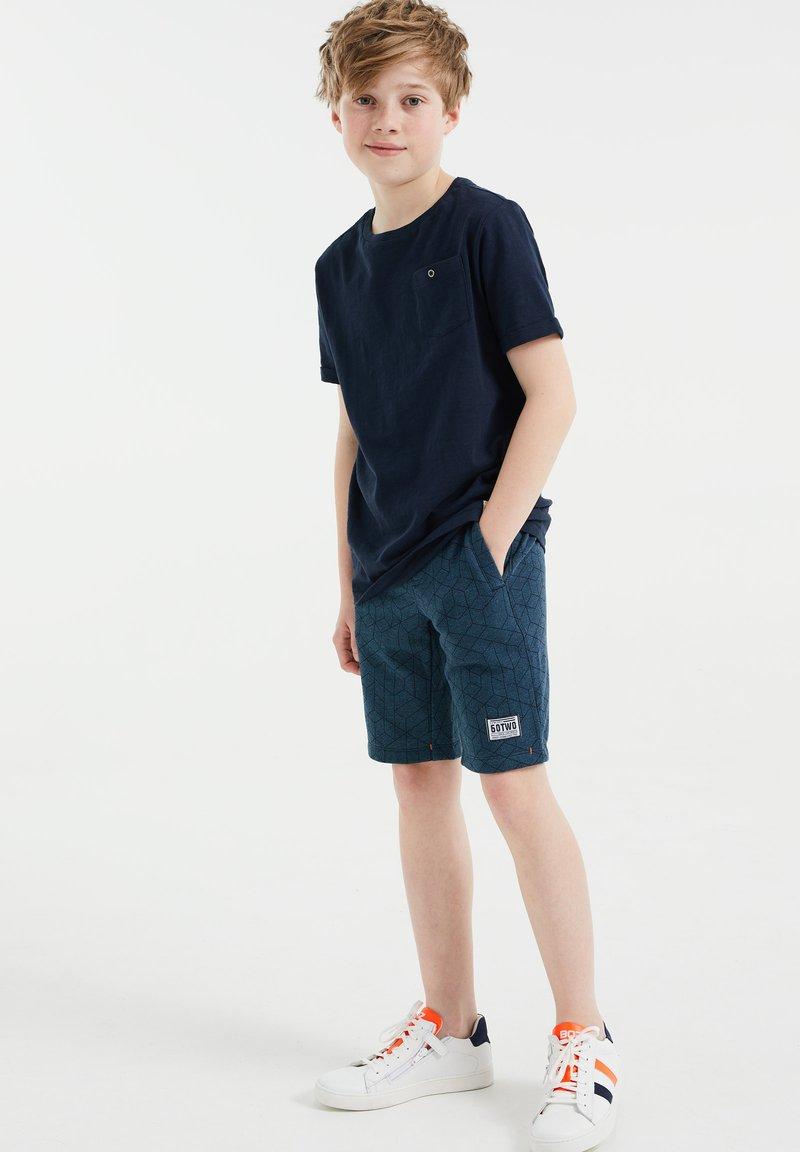 WE Fashion - Shorts - blue