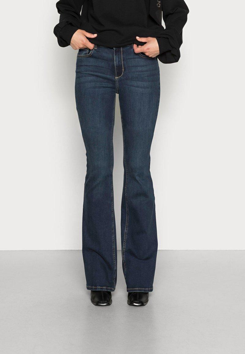 Liu Jo Jeans - BEAT - Bootcut jeans - blue arboga wash