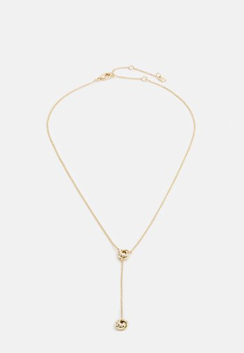 KNOT Y NECK - Necklace - gold-coloured