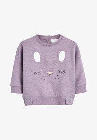Next - LILAC CHARACTER SWEAT TOP AND LEGGINGS SET (0MTHS-2YRS) - Sweatshirt - purple - 1