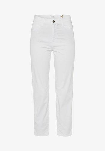STYLE CARO S - Trousers - white