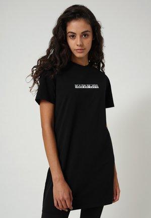 S-BOX LONG - T-shirt med print - black 041